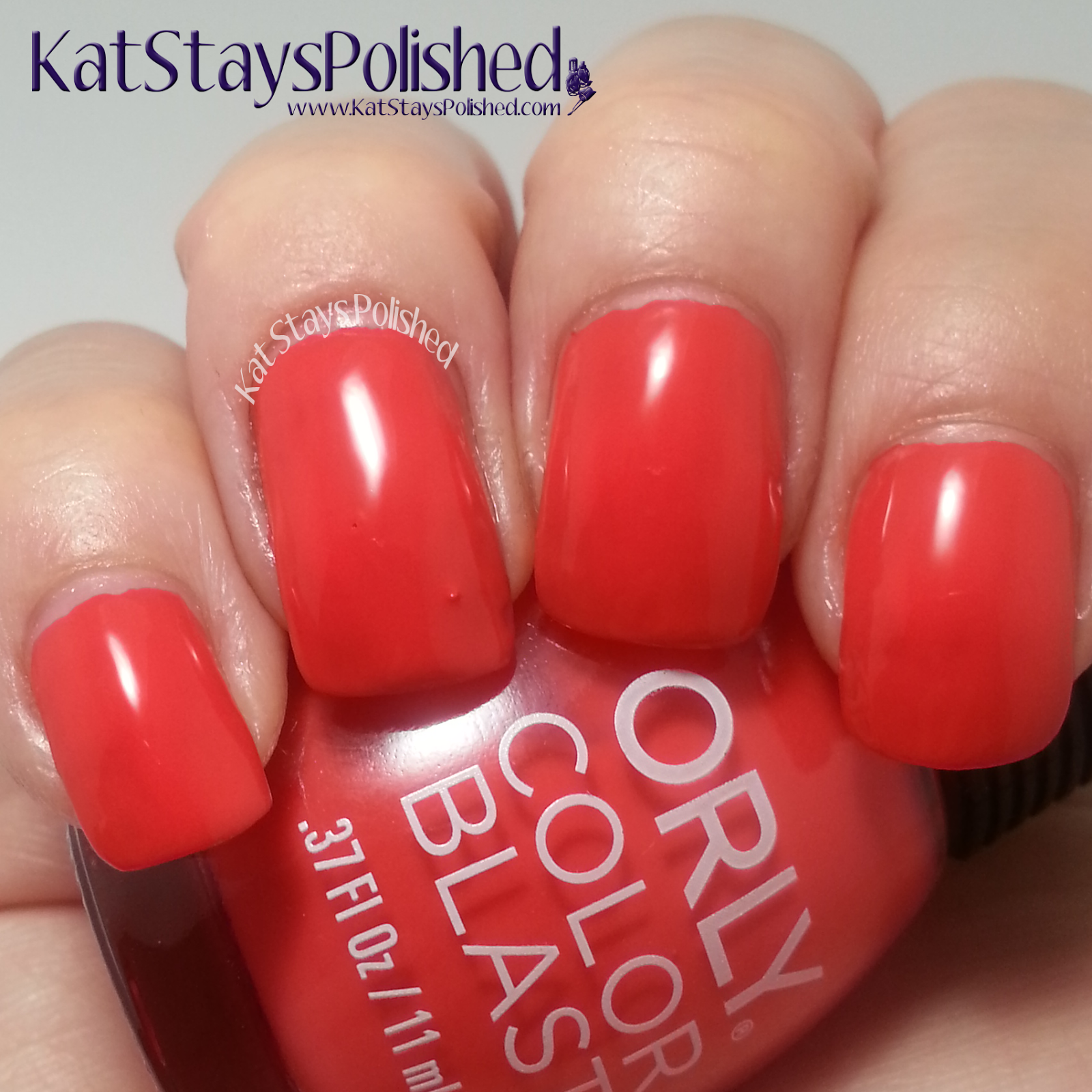 Orly Color Blast - Disney's Frozen Elsa Collection - Warm Hugs | Kat Stays Polished