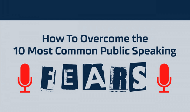 How To Overcome The 10 Most Common Public Speaking Fears