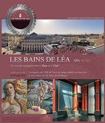 Les bains de lea spa luxe regent grand hotel bordeaux for Bains de lea paris