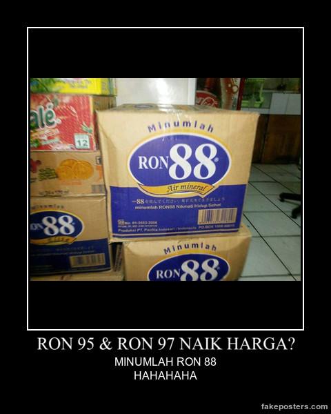 RON 95 & RON 97 NAIK HARGA?