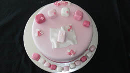 Ruby's christening cake