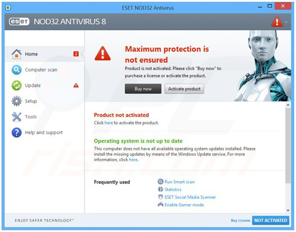 Download ESET NOD32 2015 Antivirus Offline Installer | ESET NOD32 Antivirus 9.0.318.0
