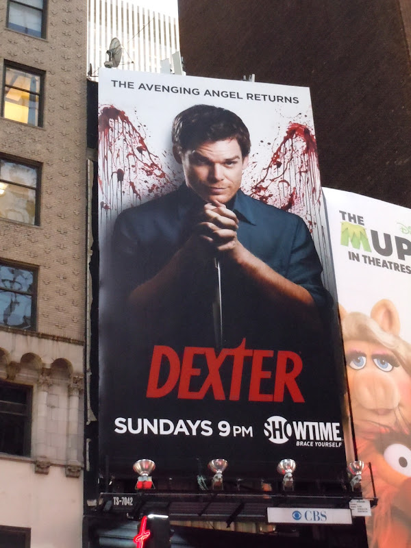 Dexter season 6 billboard NYC
