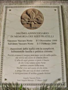 Commemorazione Lapide