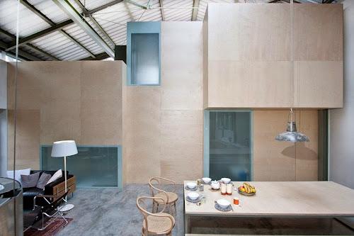 Camden Workshop by Henning Stummel Architects
