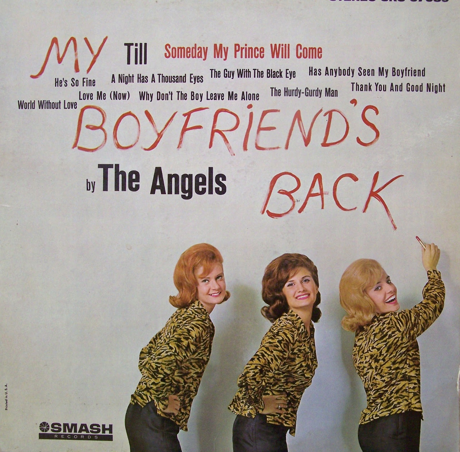 Angels%2520My%2520Boyfriends%2520Back ... by Elaine Brown released in 1969, with song titles including Seize The ...
