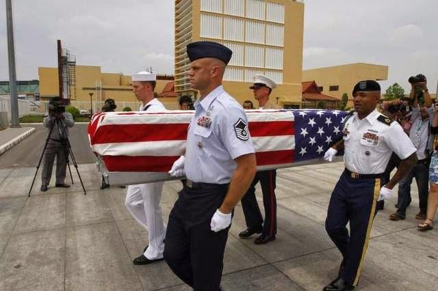 Military News - Cambodia repatriates 3 possible U.S. MIA remains