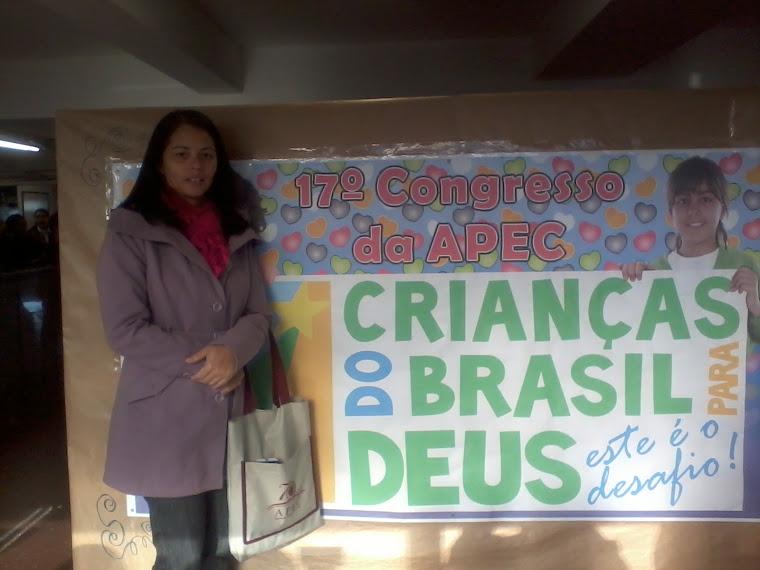 Deus me enviou para o Congresso da APEC!!!