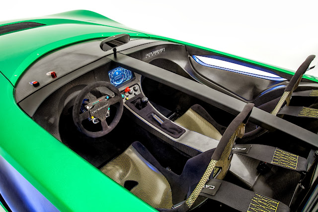 Caterham+Aero+Seven+Detail+TFT sm [Video] Caterham AeroSeven Concept: Lean and Green