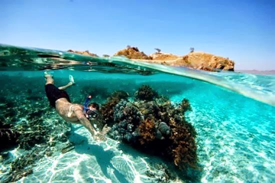 Buceando en los arrecifes de coral de Tuvalu