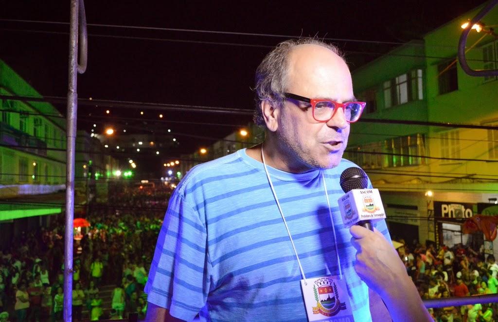 – Secretário de Cultura, Ronaldo Fialho, destaca que foliões vão poder se divertir em diversos pontos da cidade