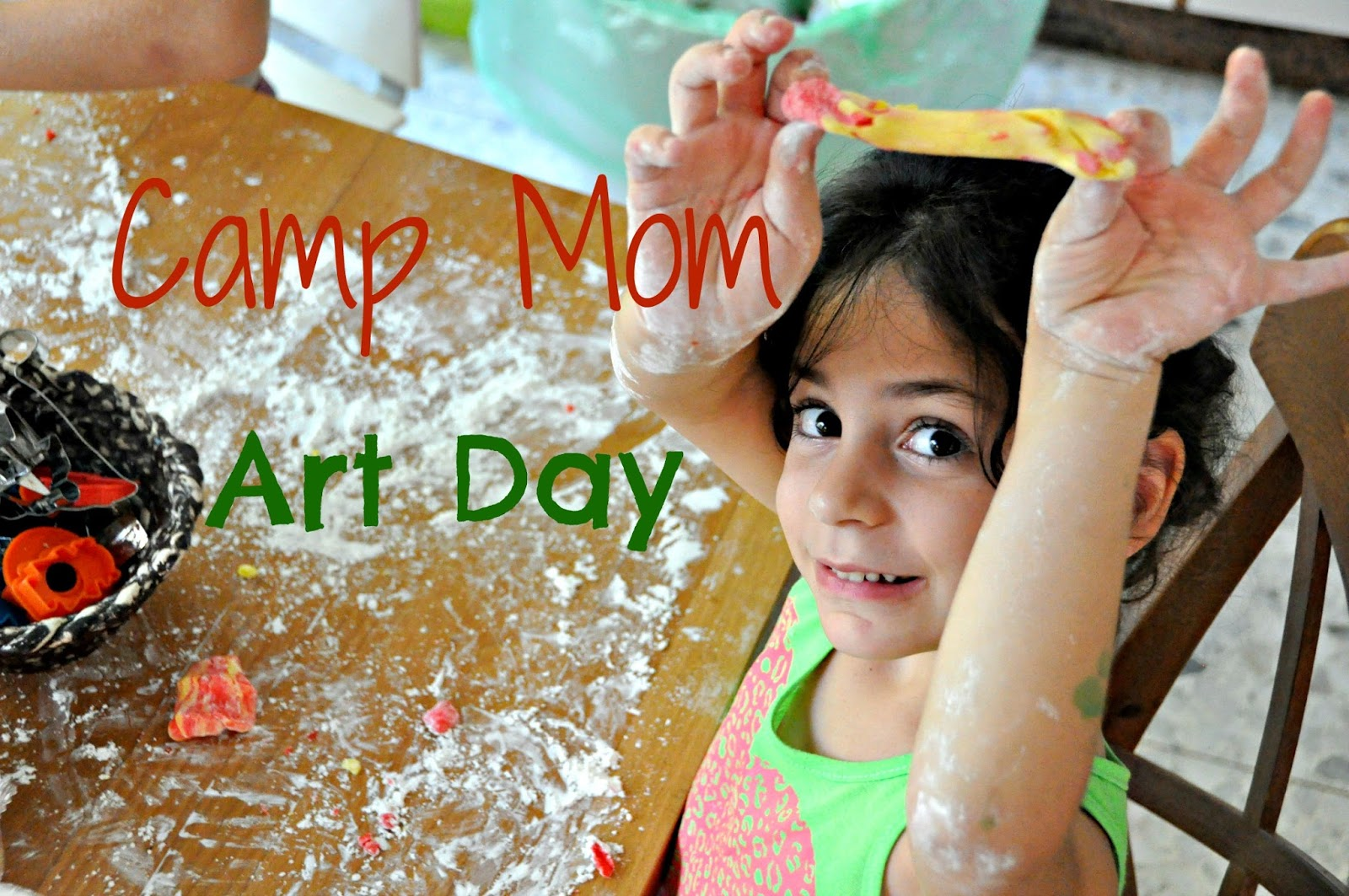 Camp Mom - Art Day