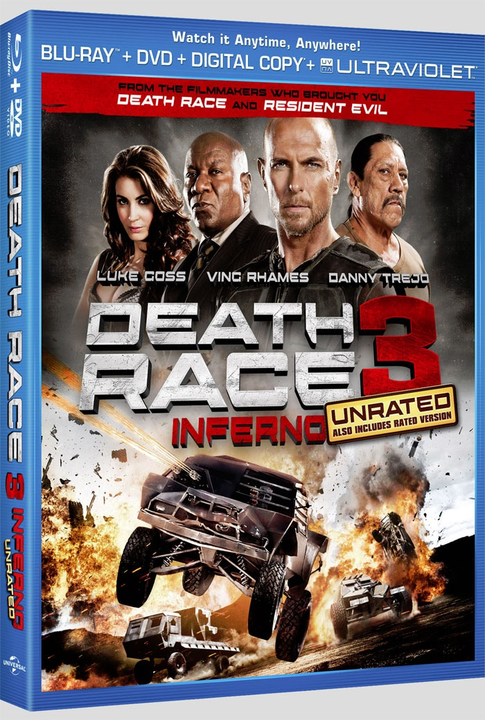 Welcome To DownZedNet World: Death Race 3 (2013) : HD Dual ...