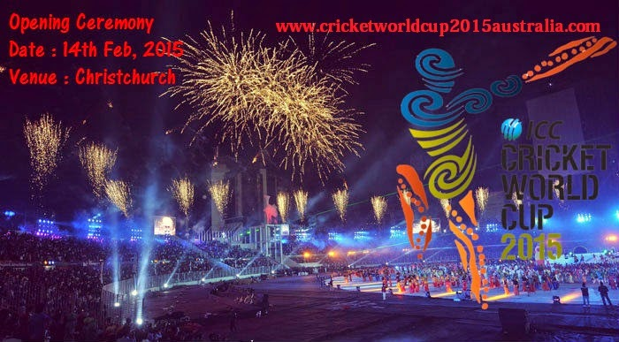 world cup 2015 opening ceremony
