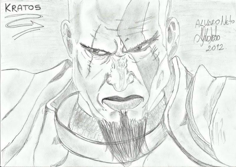 Kratos - Street Fighter (desenho)