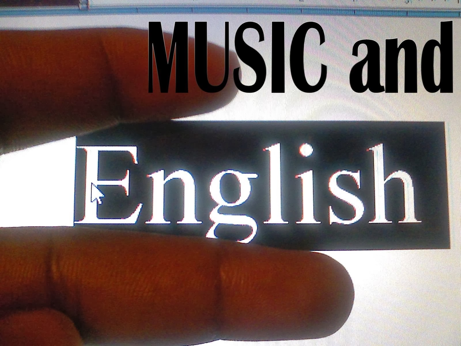 English and Music