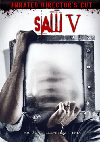 Poster of Saw V 2008 UnRated 720p BRRip English