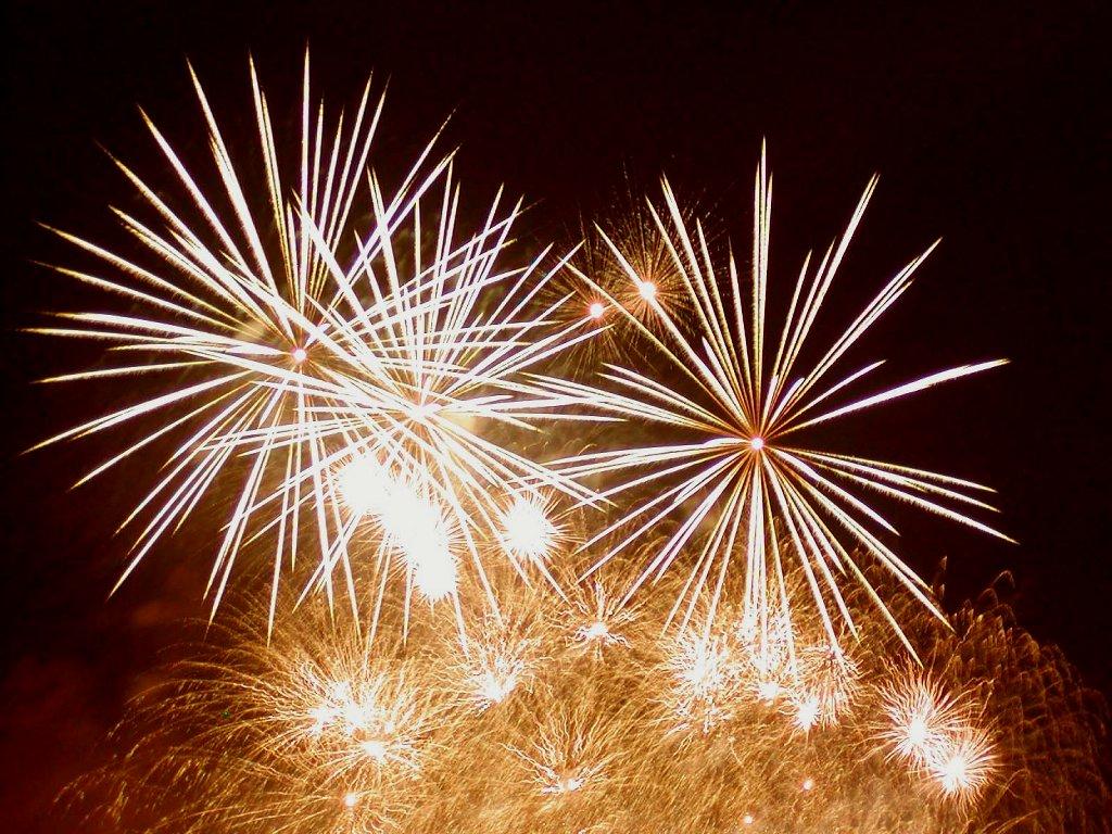 Memasang efek kembang api pada blog