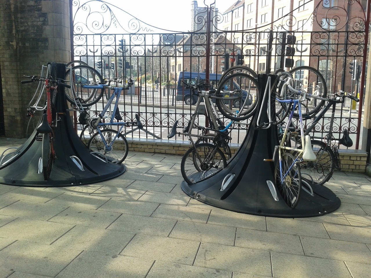 Cycle parking, Leicester