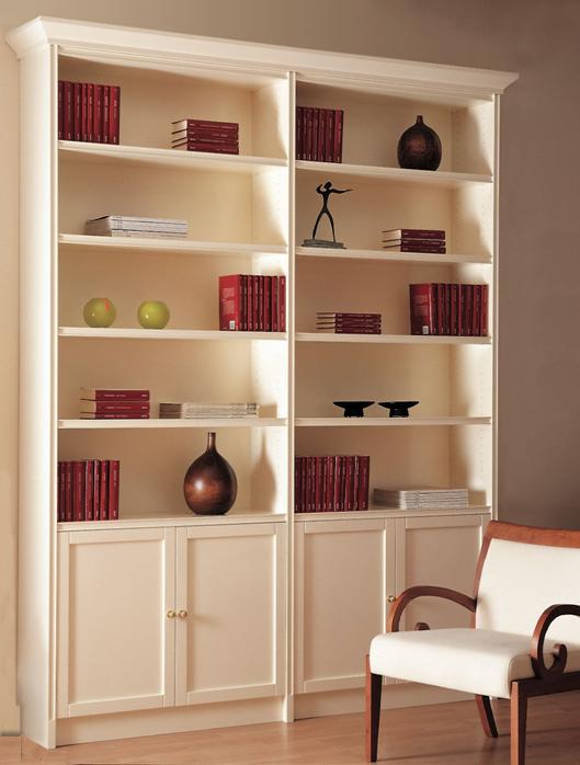 Balda especialistas en decoraci n y mobiliario a medida for Librerias clasicas para salon
