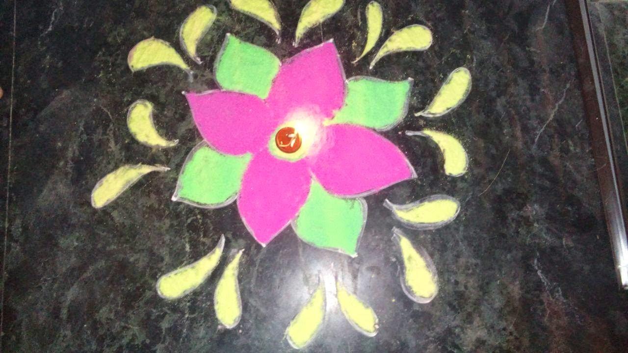 Rangoli Designs for Kids 7