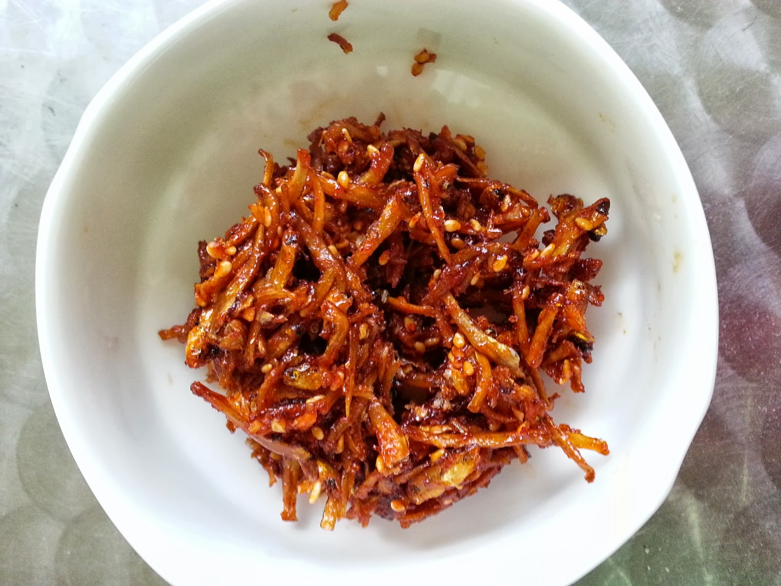 Culinary Kitchenette: Korean Stir-fried Anchovies by Jane Goh