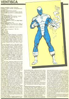 Ventisca (ficha marvel comics)