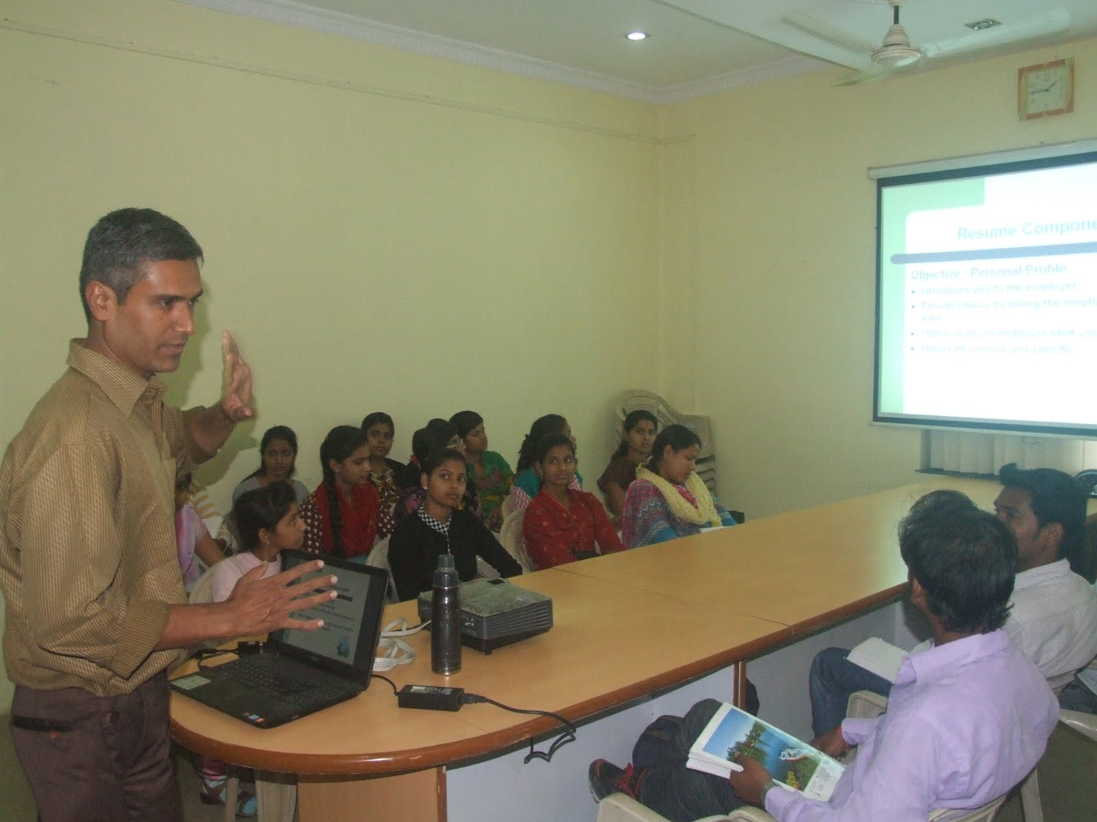 Workshop on Resume Writing