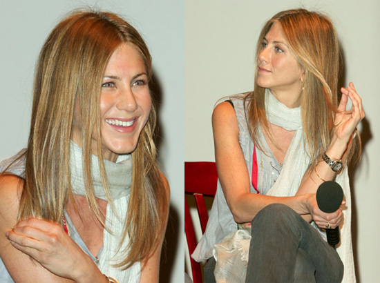 jennifer aniston long straight hair. aniston long straight hair