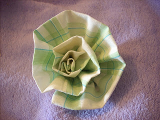how to make a cloth rose.