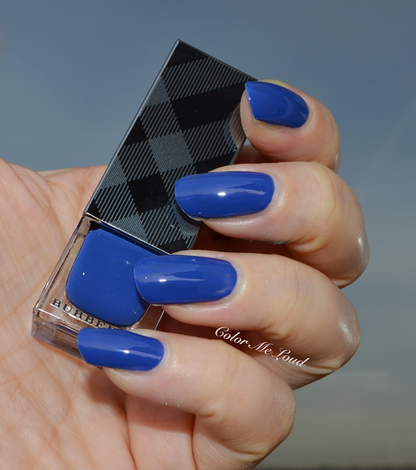 Burberry Nail Polish #429 Imperial Blue