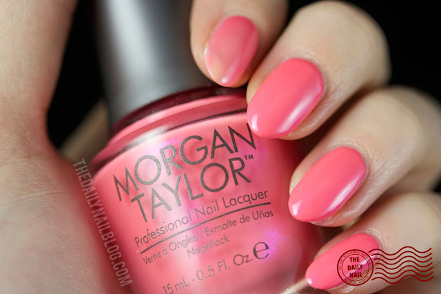Morgan Taylor Ooh La La Can Can We Dance swatch