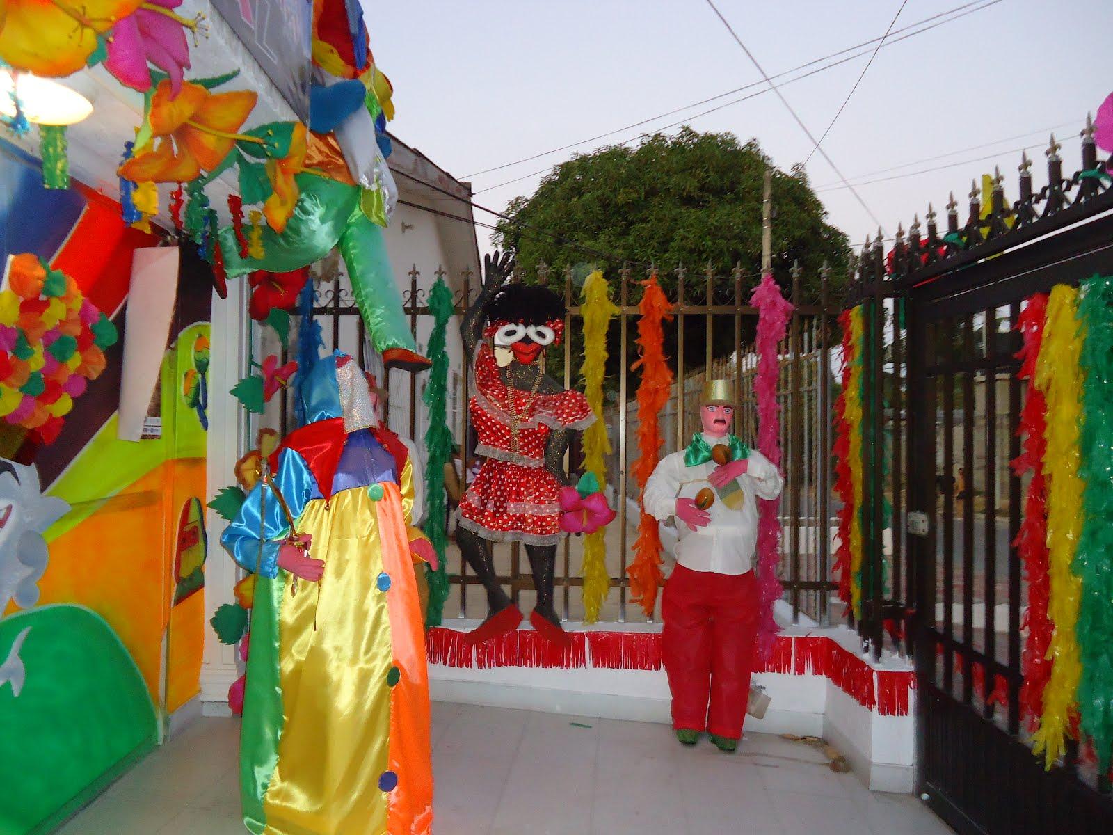 Salud y trabajo fachada ganadora del carnaval de for Decoracion del hogar barranquilla