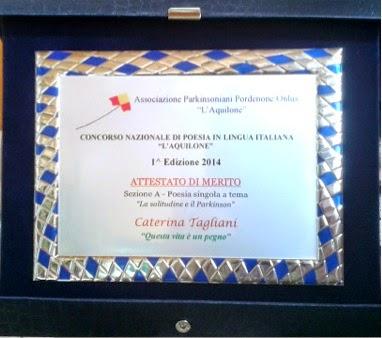 Ass. Parkinsoniana L'Aquilone-Pordenone-Novembre 2014