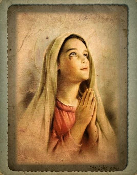 Adevarata evlavie catre Sfanta Fecioara Maria.Dati, va rog,clik pe fotografie.