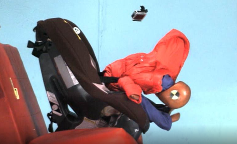 Crash Test Video Shows Winter Coats and Car Seats Don\'t Mix   Coffee ...