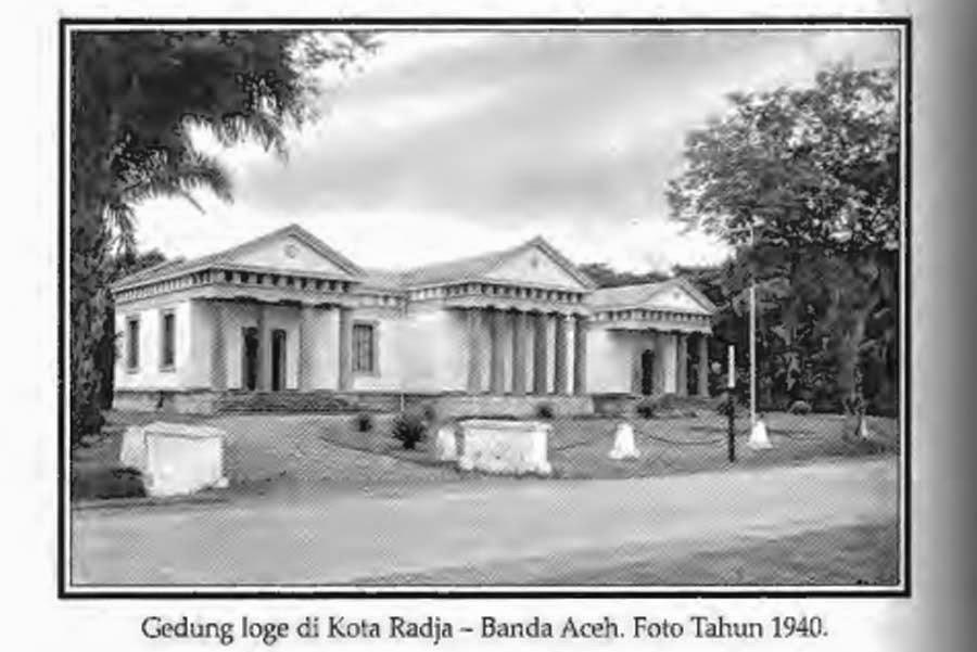 Jejak Post | Gedung Loge di Kota Raja