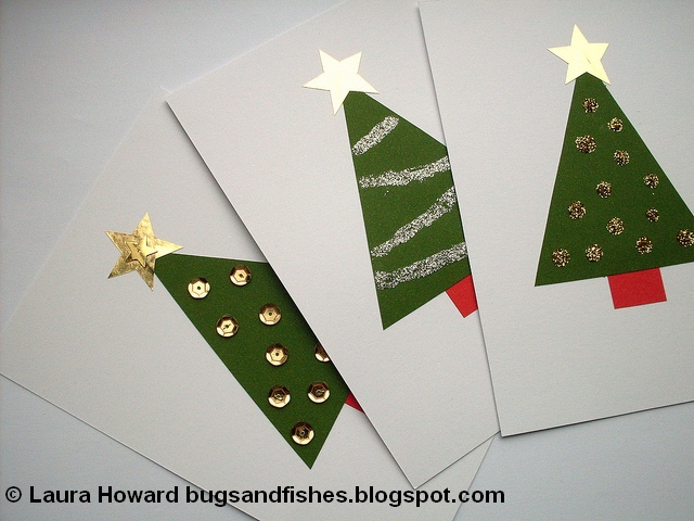 640 x 480 jpeg 222kB, Bugs and Fishes by Lupin: DIY Christmas Cards ...