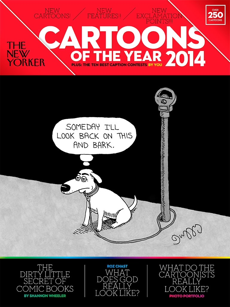 Attempted Bloggery: The New Yorker Cartoons of the Year 2014