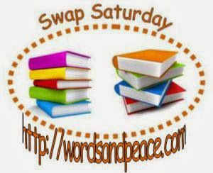 http://wordsandpeace.com/2013/11/09/swap-saturday-for-book-bloggers/