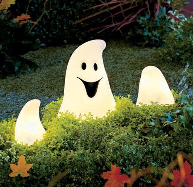 ghost halloween decorations ideas