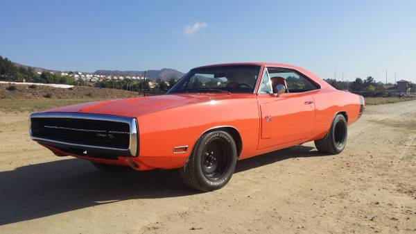 1970 orange dodge charger for sale buy american muscle car. Black Bedroom Furniture Sets. Home Design Ideas