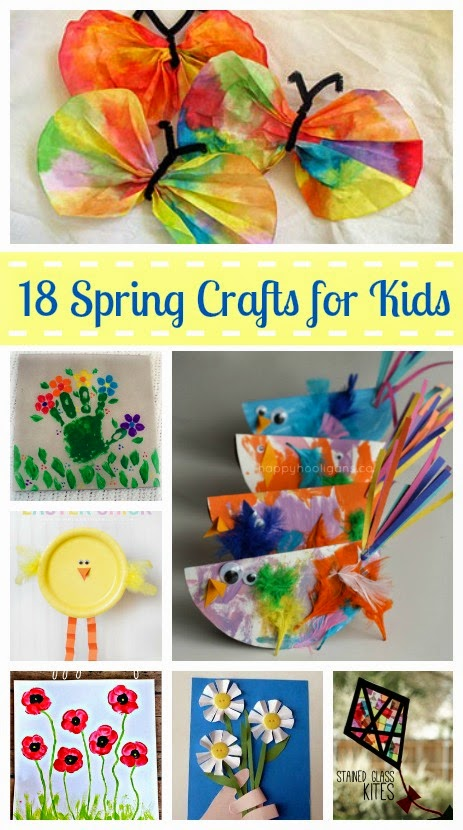 18 fun spring crafts for kids - Spring Pictures For Kids