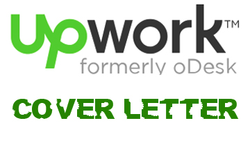 Upwork (formerly oDesk) cover letter samples and examples - Future ...