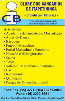 CLUBE DOS BANCÁRIOS DE ITAPETININGA
