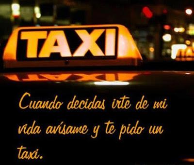 ¿Te pido un taxi?