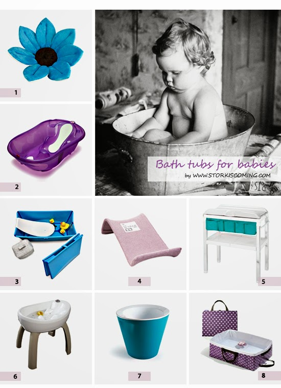 best baby bathing tubs