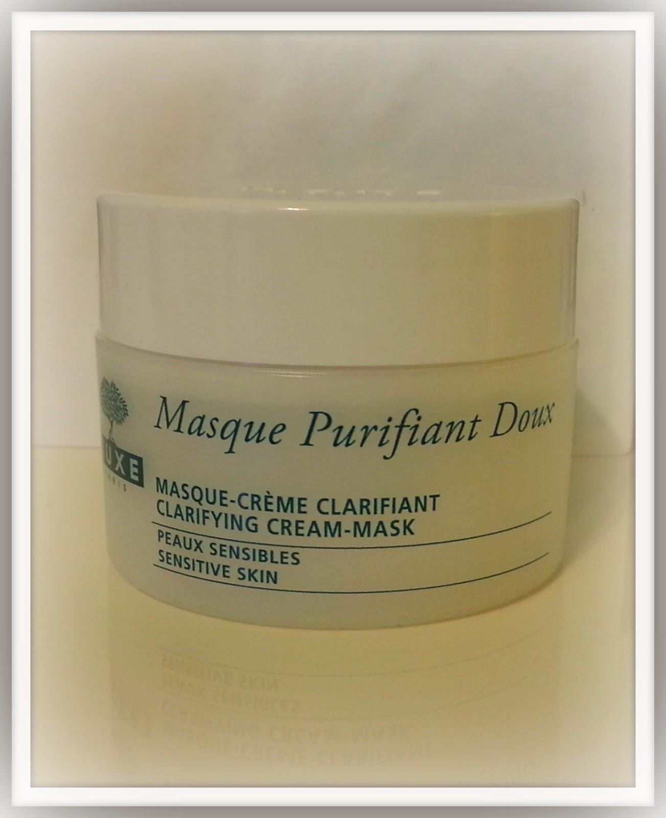 clarifying cream mask nuxe
