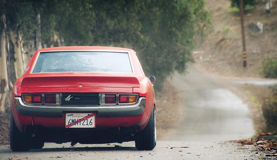 fajne sportowe samochody, japońskie, kultowe, Toyota Celica, fotki, RWD, tył, czerwona
