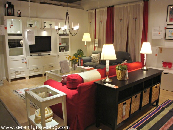 IKEA Living Room and Family Room Decorating, Serenity Now blog